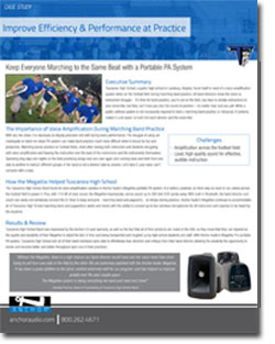 Marching Band Sound System